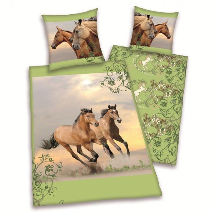 Herding Bettwäsche Pferde Bettwäsche Wildpferde  Real von Bettwäsche Pferde Fotodruck Bild