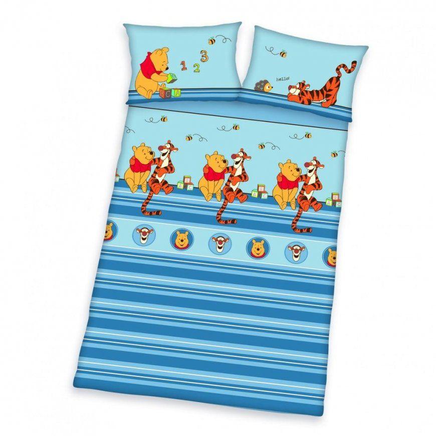 Herding Bettwäsche Winnie Pooh Babybettwäsche 100  Real von Bettwäsche Winnie Pooh 100X135 Bild