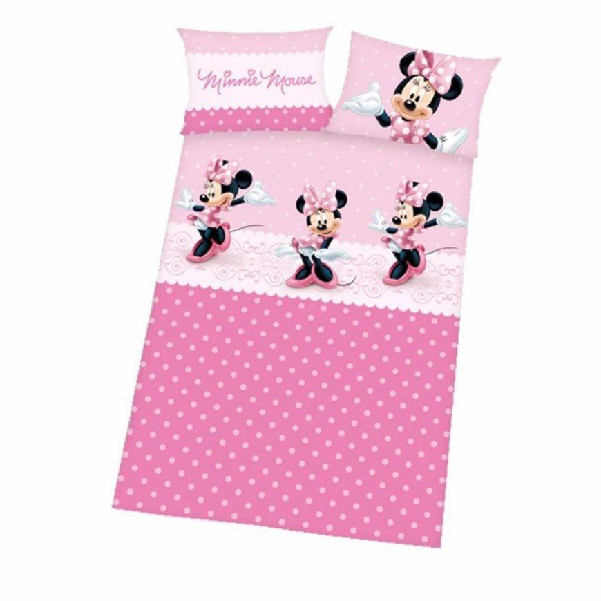 Herding Disney Minnie Mouse Bettwäsche 40 X 60 Cm  Real von Baby Bettwäsche Minnie Mouse Photo