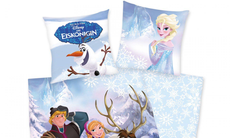 Herding Disney's Die Eiskönigin Renforcé Kinderbettwäsche  Perfekt von Kinderbettwäsche Die Eiskönigin Bild