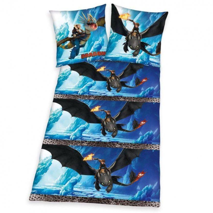 Herding Flanell Bettwäsche Dragons Größe  Real von Drachenzähmen Leicht Gemacht Bettwäsche Photo