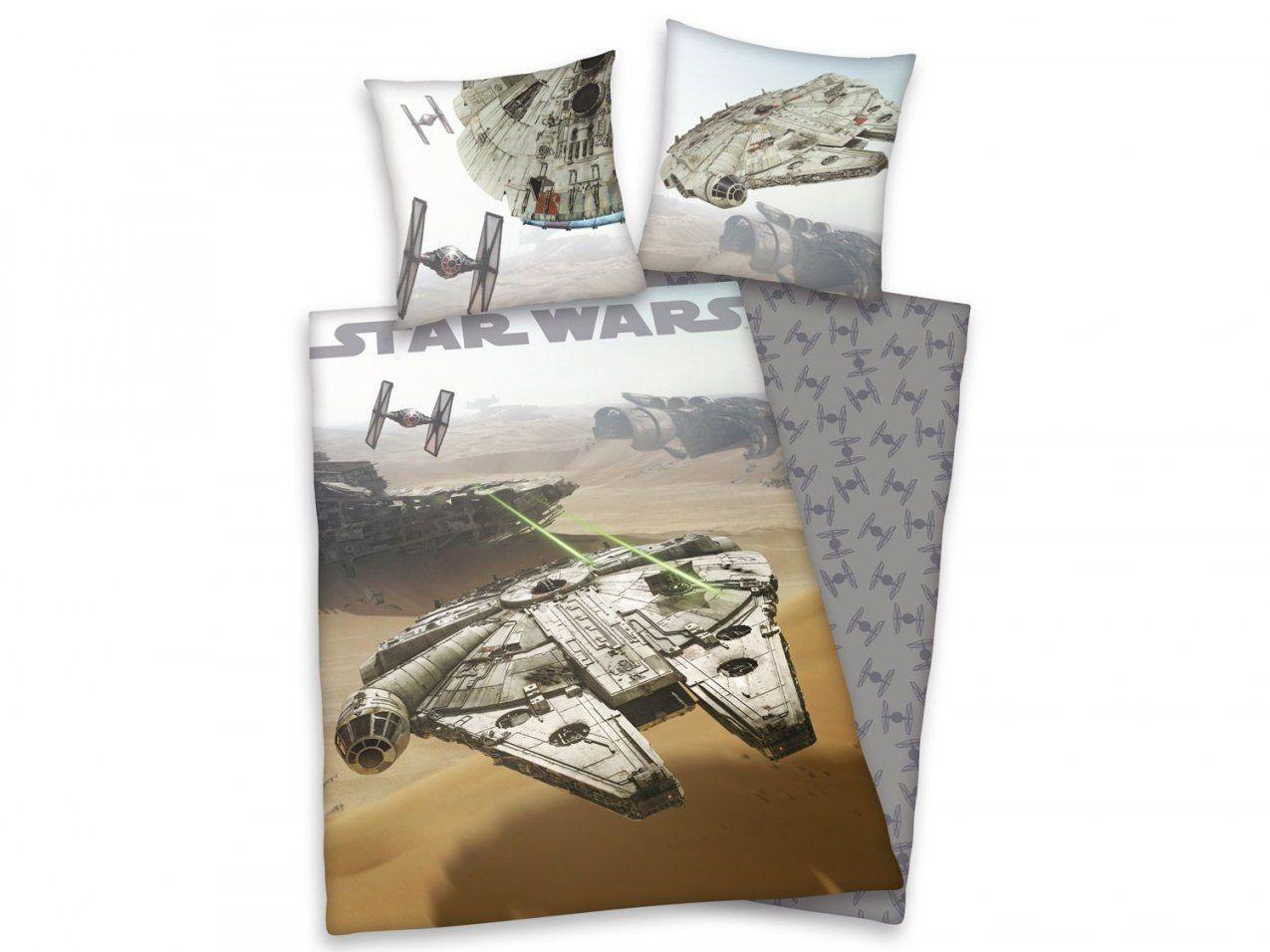 Herding Flanellbettwäsche Star Wars 135 X 200 Cm  Lidl von Biber Bettwäsche Lidl Bild