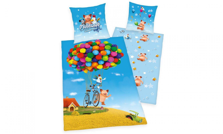 Herding Kinderbettwäsche Für Mädchen Und Jungen  Perfektschlafen von Kikaninchen Bettwäsche 100X135 Photo