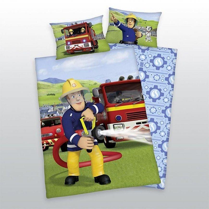 Herding Kinderwendebettwäsche Feuerwehrmann Sam  Real von Feuerwehrmann Sam Bettwäsche Real Bild