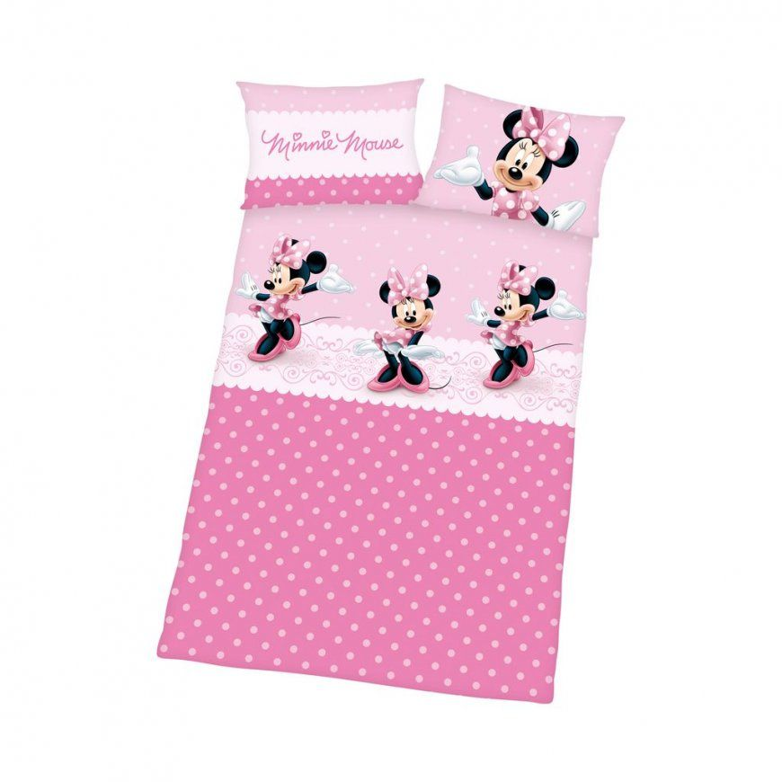 Herding Minnie Mouse Bettwäsche Minnie Mouse 40X60  100X135 Cm von Minnie Mouse Bettwäsche 70X140 Photo