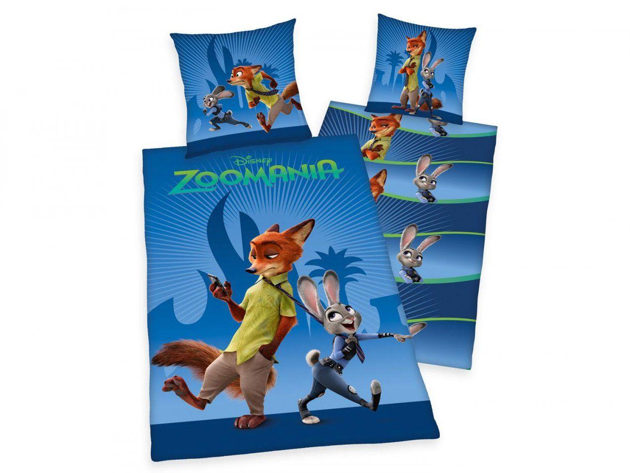 Herding Renforcébettwäsche Disney´s Zoomania 135 X 200 Cm  Lidl von Disney Bettwäsche 155X220 Bild