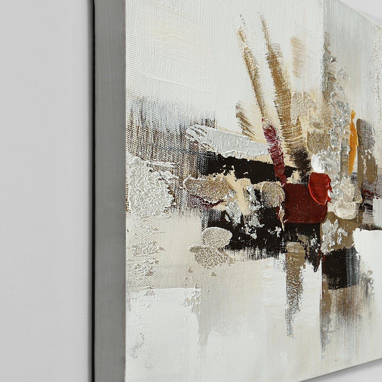 Herrlich Wandbild Abstrakt Art Work Handgemaltes Auf Leinwand Inkl von Bilder Leinwand Abstrakt Keilrahmen Photo