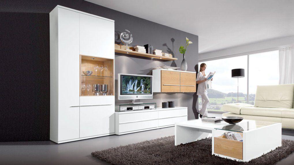 Herrlich Wohnzimmer Wohnwand Weis Antik Taupe Poco Grau Massivholz von Wohnwand Antik Weiß Gewischt Bild