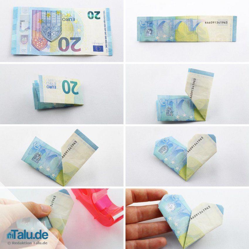 Herz Aus Geldscheinen Falten Mit Einfacher Anleitung  Seotrail von Geldschein In Herz Falten Bild