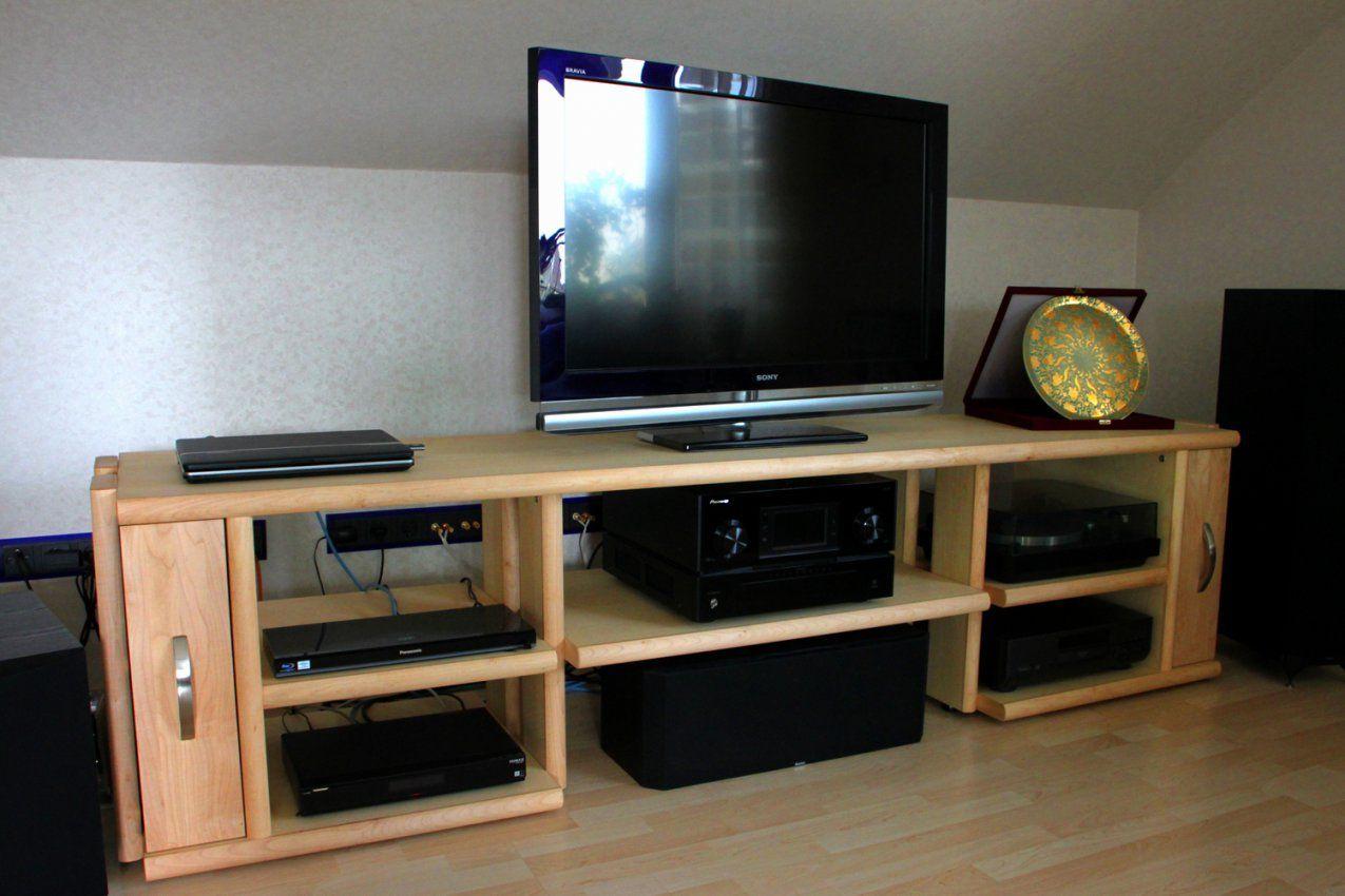 Hifi Rack Holz Selber Bauen Luxus Tv Schrank Geschlossen  Hausplan von Hifi Möbel Selber Bauen Bild