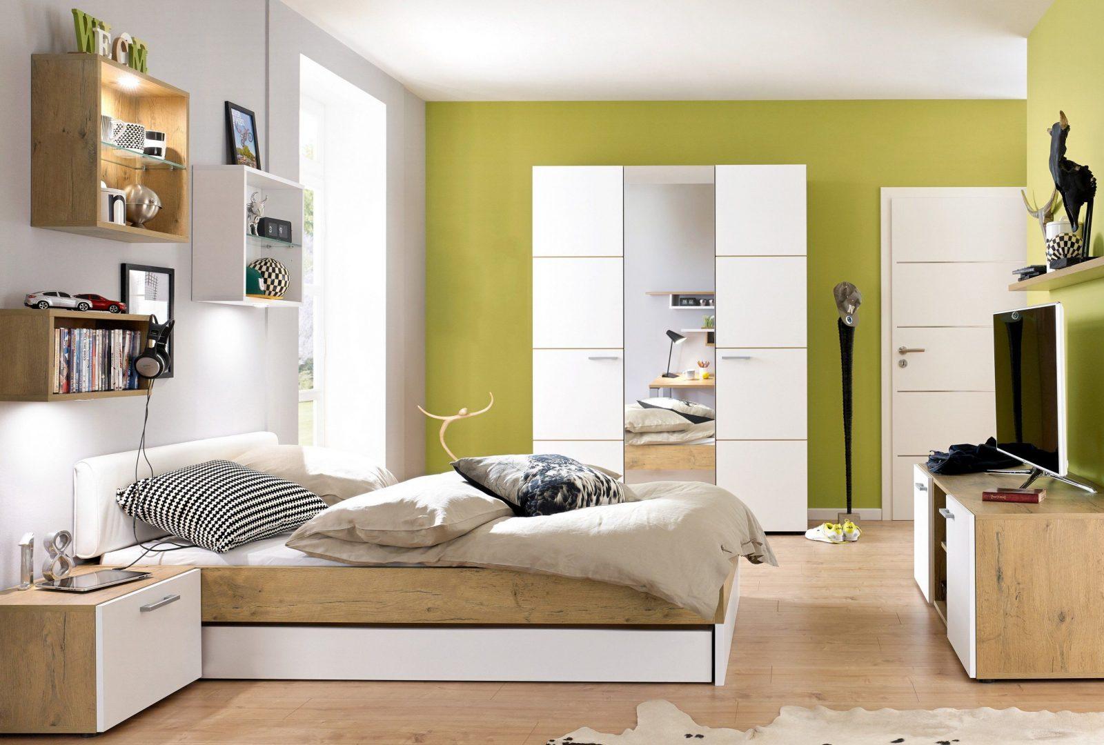 High 5 Rudolf Kleiderschrank & Bett Mit Gästebett  Möbel Letz  Ihr von Jugendzimmer Bett Mit Bettkasten Bild