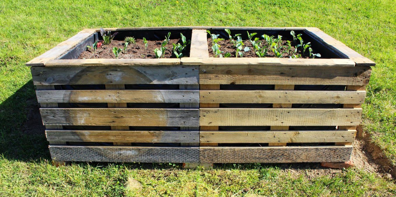Hochbeet Aus Europaletten – Ein Reblog Von Alliumart – Fliederherz von Hochbeet Günstig Selber Machen Bild