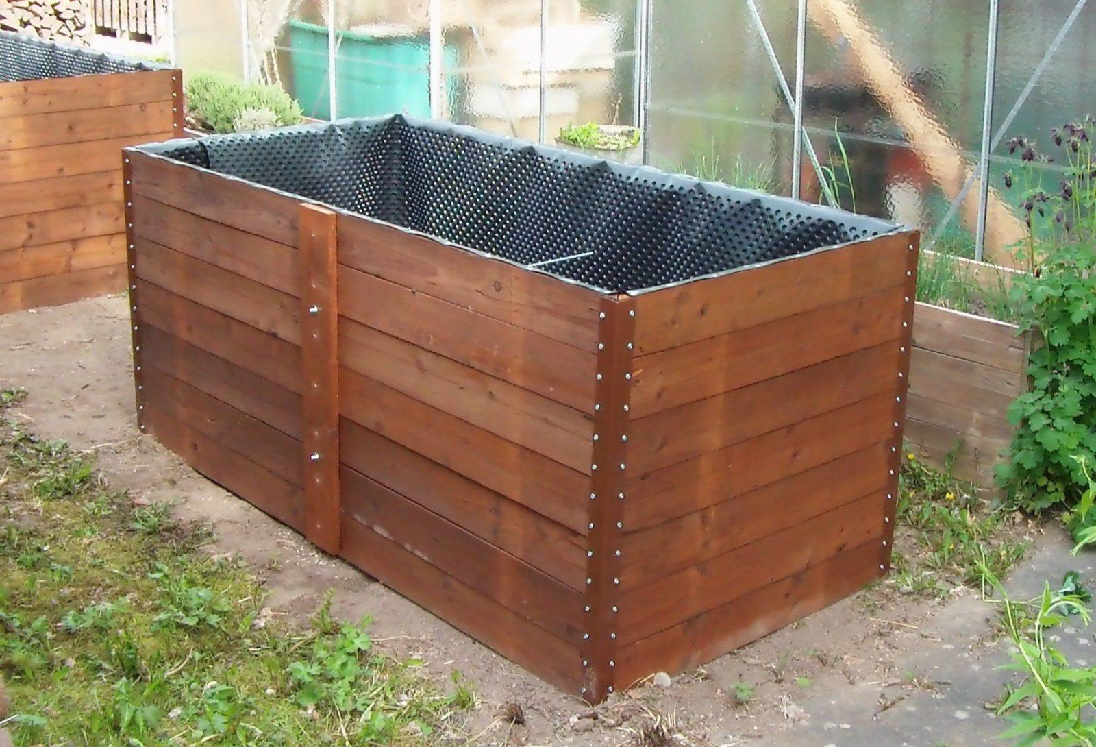 Hochbeet Selber Bauen Aus Holz Und Metall Raised Garden Bed von Hochbeet Günstig Selber Machen Bild