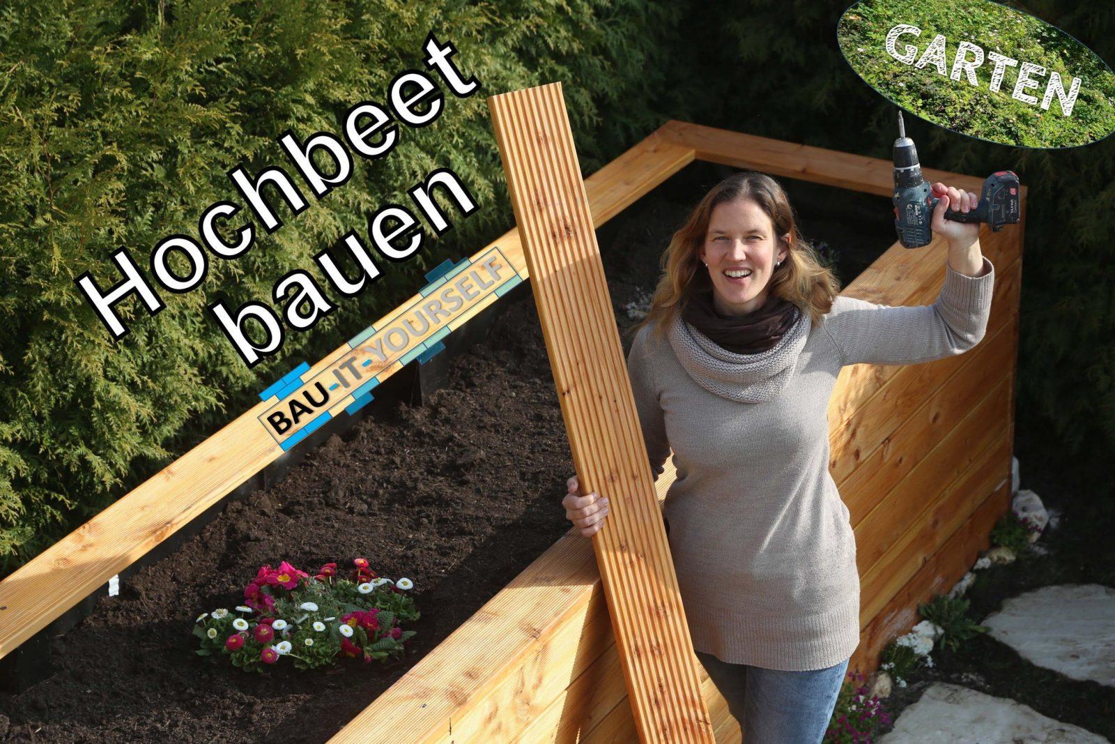 Hochbeet Selber Bauen  Garten Anlegen  Diy Holz Hochbeet von Hochbeet Selber Bauen Youtube Bild