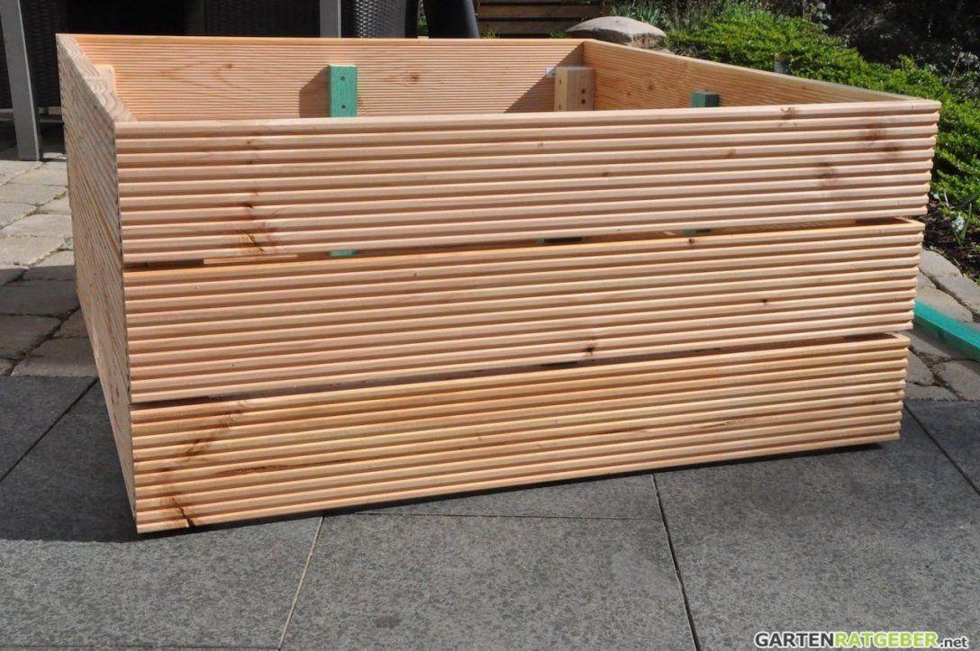 Hochbeet Selber Bauen Hochbeet Selber Bauen Hochbeet Und Selber von Pflanzkübel Holz Selber Bauen Bild