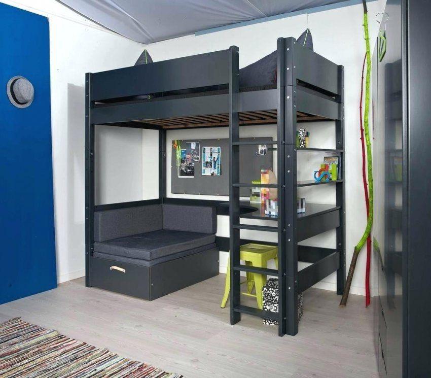 Hochbett 160X200 Gebraucht Mit Kinder Ikea Schreibtisch Selber Bauen von Hochbett 160X200 Selber Bauen Photo