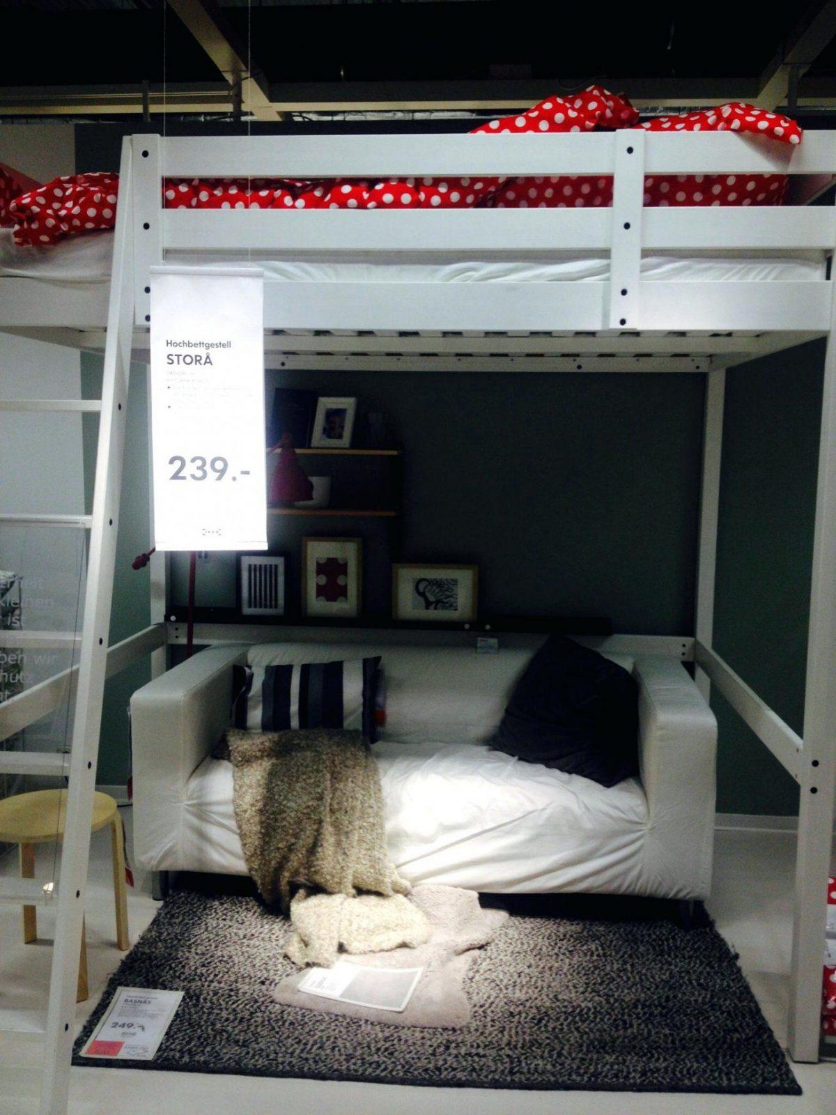 Hochbett Erwachsene 140×200 Hochbetten Neu Fur Ikea von Hochbett Für Erwachsene Ikea Bild