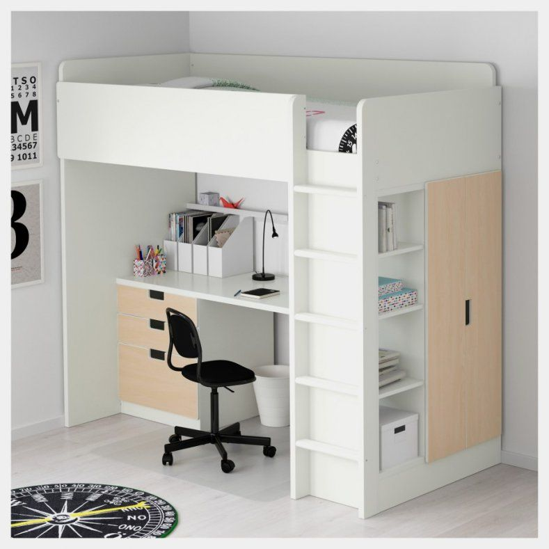 Hochbett Mit Kleiderschrank Und Schreibtisch Einzigartig Hochbett von Ikea Hochbett Mit Schreibtisch Und Schrank Bild