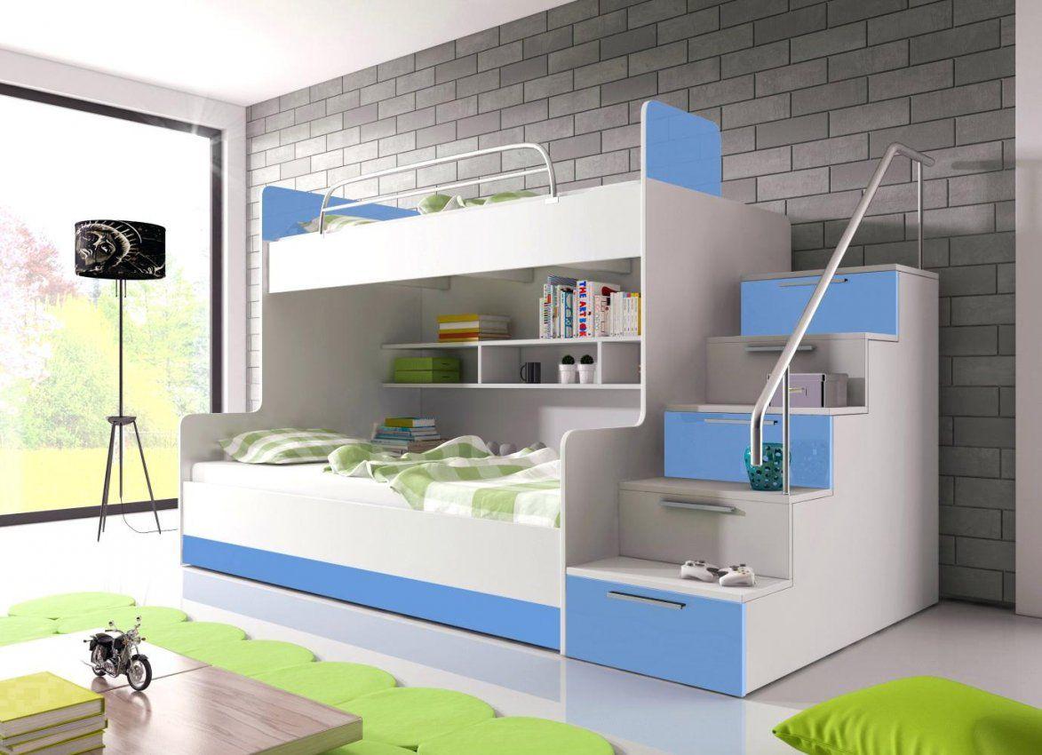 Etagenbett Mit Seitlicher Treppe : Stilvolle hochbett treppe selber bauen kreativ