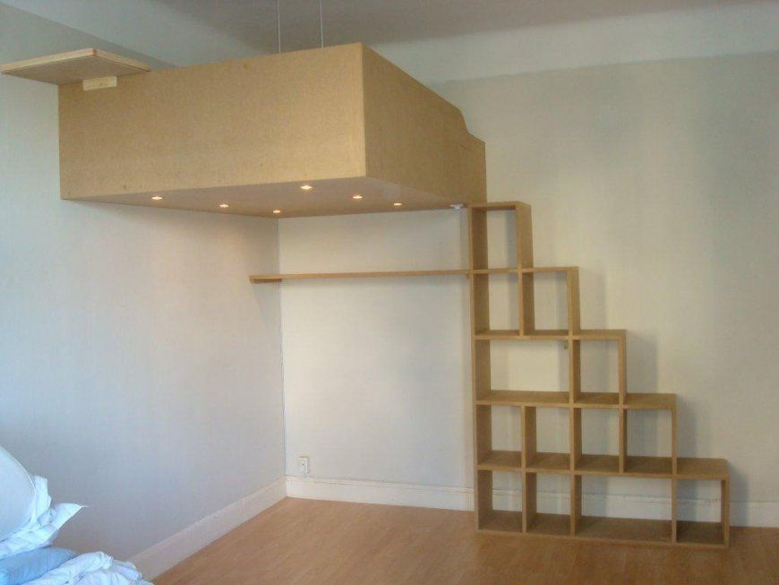 Etagenbett Bauen : Hochbett mit treppe selber bauen nt hitoiro avec