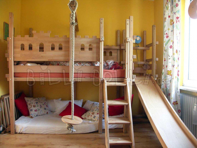 Hochbett Mitwachsend  Billibolli Kindermöbel von Hochbett Mit Rutsche Selber Bauen Photo