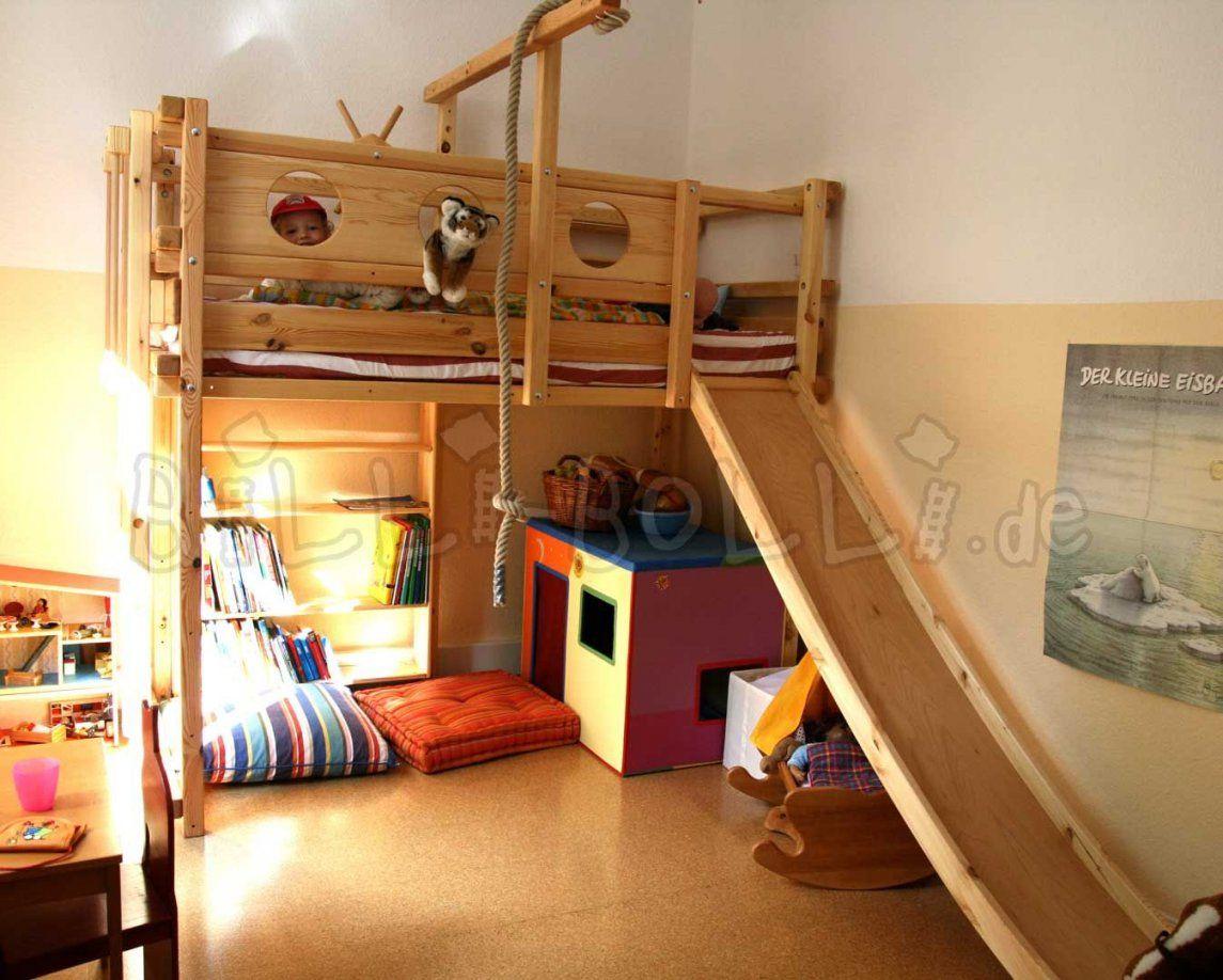 Hochbett Mitwachsend  Rund Ums Kind  Pinterest  Hochbetten von Bett Rutsche Selber Bauen Photo