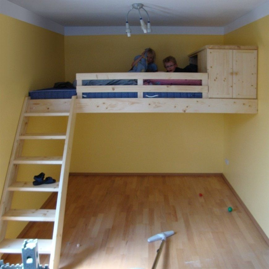 Hochbett Selber Bauen Mit Schrank Muris Bett With Hochbett Selber von Hochbett Selber Bauen Altbau Photo