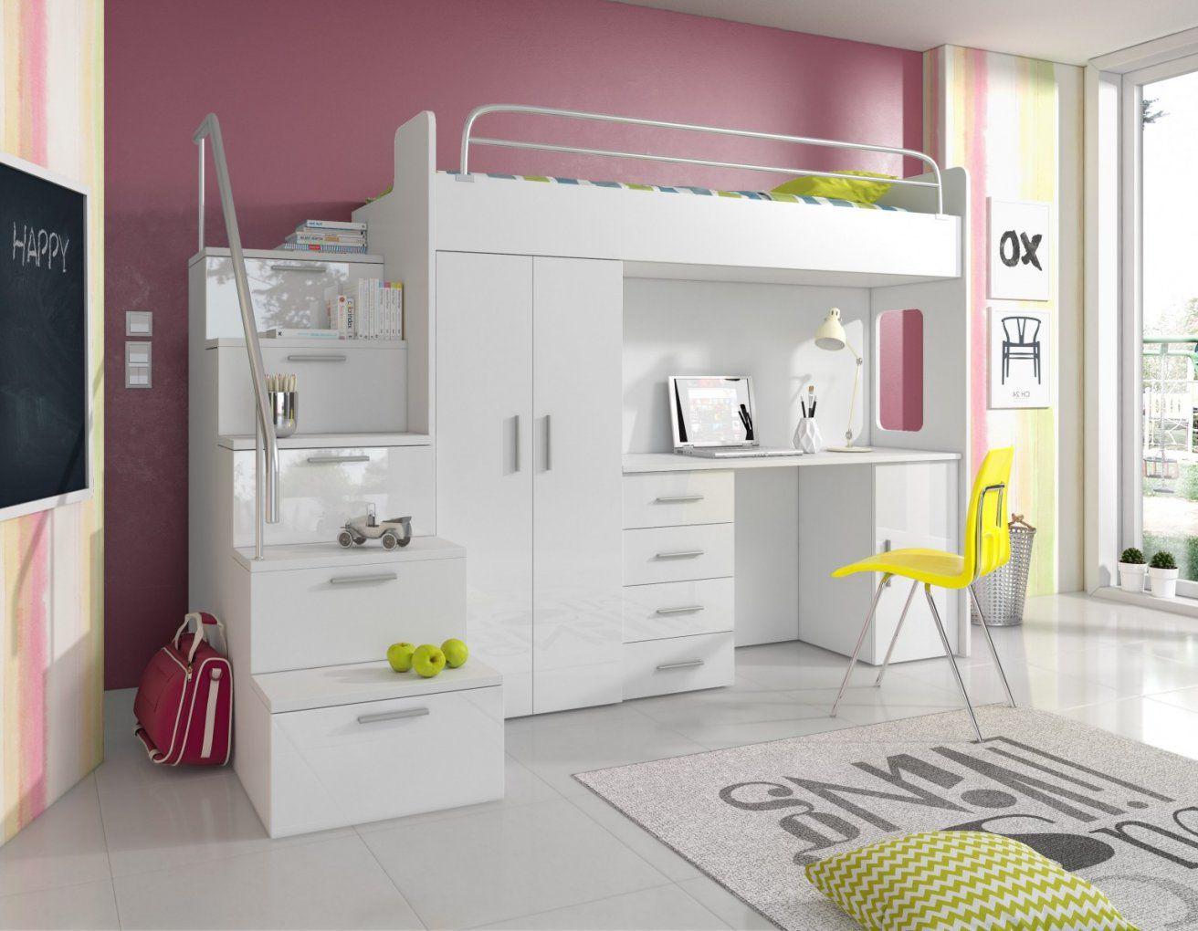 Hochbett Weiß Mit Schreibtisch Einfach Schiebetüren Kleiderschrank von Kleiderschrank Mit Integriertem Schreibtisch Photo