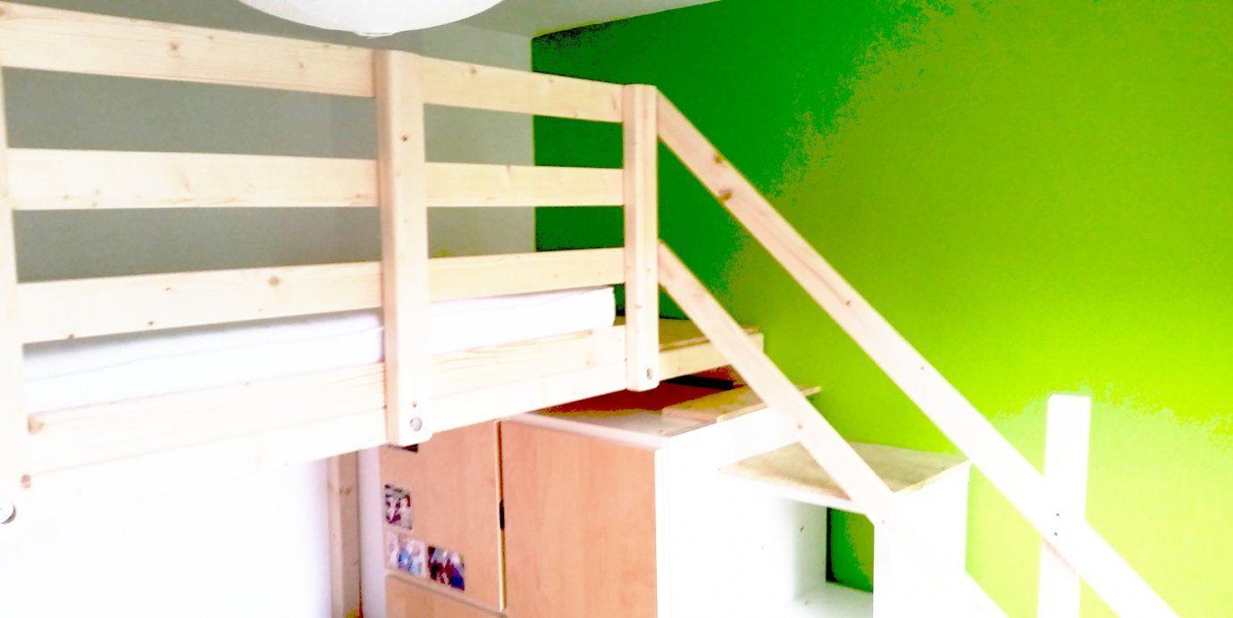 Hochbetten Für Erwachsene Nach Maß von Hochbett Leiter Selber Bauen Bild