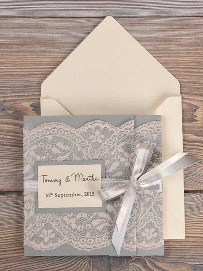 Hochzeitseinladungen Selber Basteln Set Ideen Einladungskarten Von