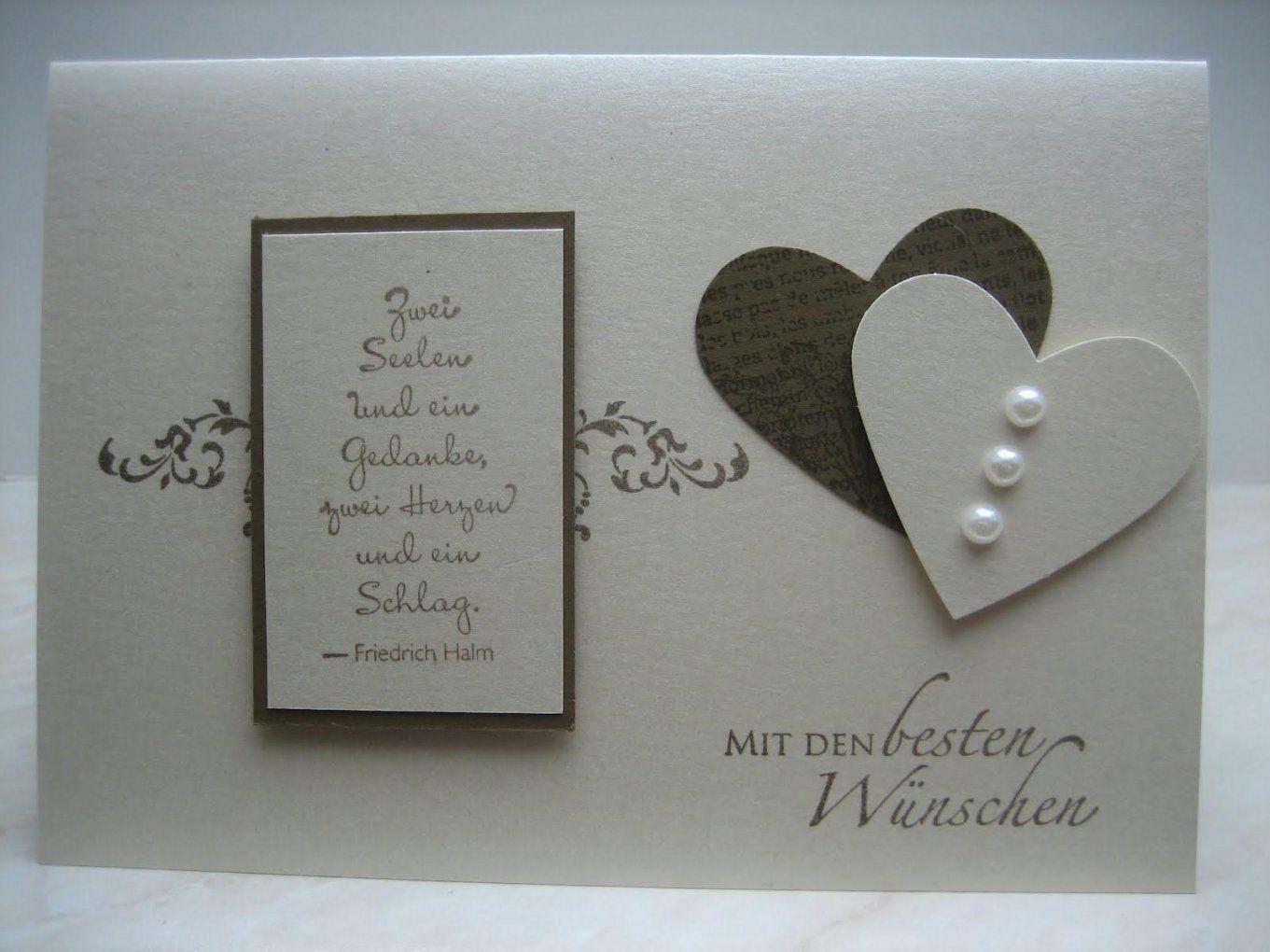 Hochzeitskarten Selber Basteln  Jjhastain von Hochzeitskarten Selber Basteln Ideen Bild