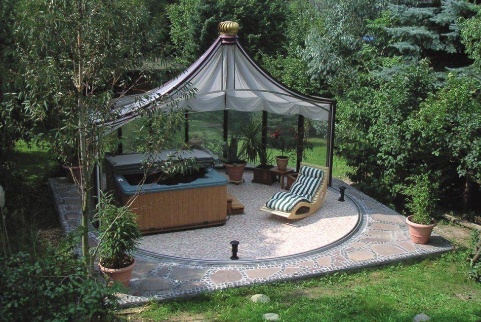 Hof & Garten I Alukonstruktionen In Vielen Varianten (Als von Rund Pavillon Aus Glas Bild