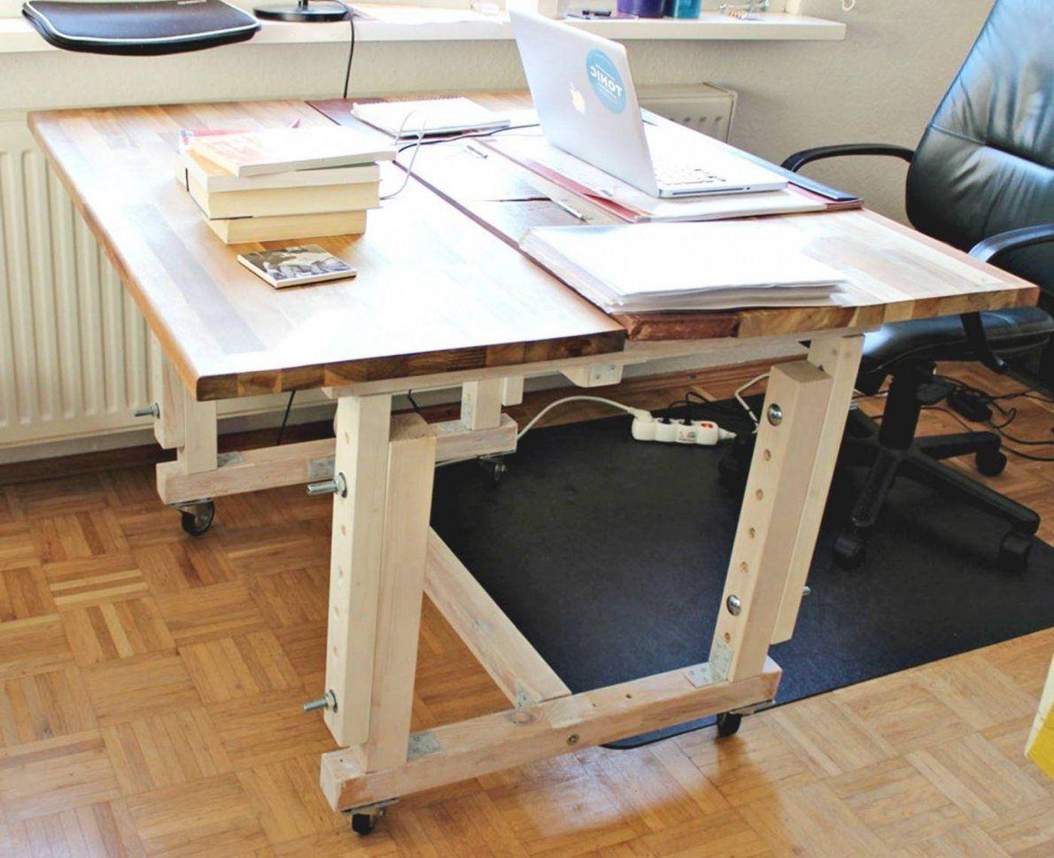 Höhenverstellbarer Schreibtisch Selber Bauen Jenseits Des Glaubens von Höhenverstellbarer Schreibtisch Selber Bauen Bild