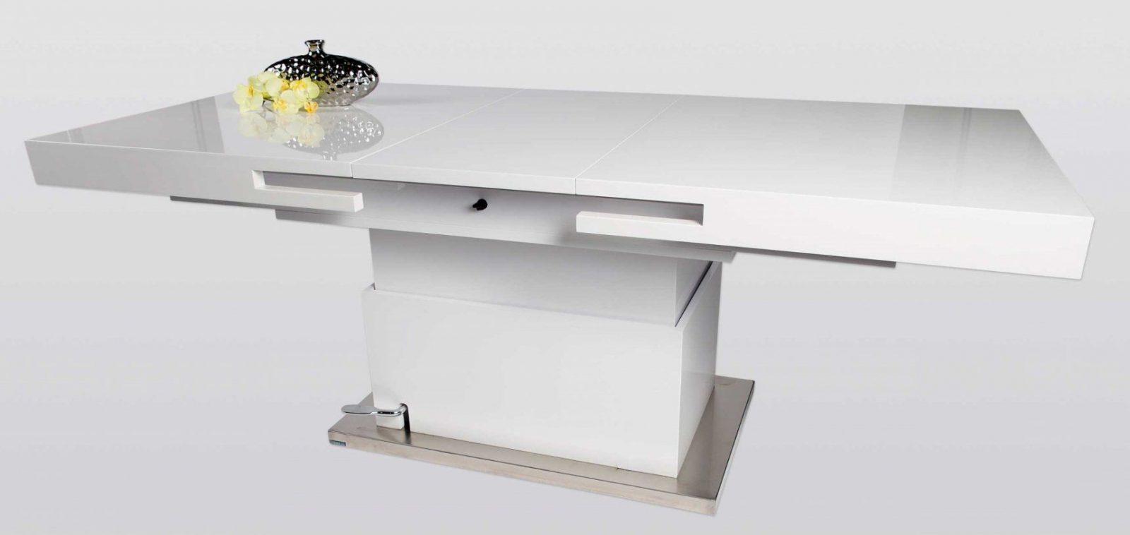 h henverstellbarer und ausziehbarer couchtisch dekoration. Black Bedroom Furniture Sets. Home Design Ideas