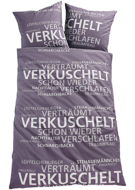 """Hoher Kuschelfaktor Die Bettwäsche """"dream""""  Grau Microfaser von Bettwäsche Bei Bonprix Photo"""