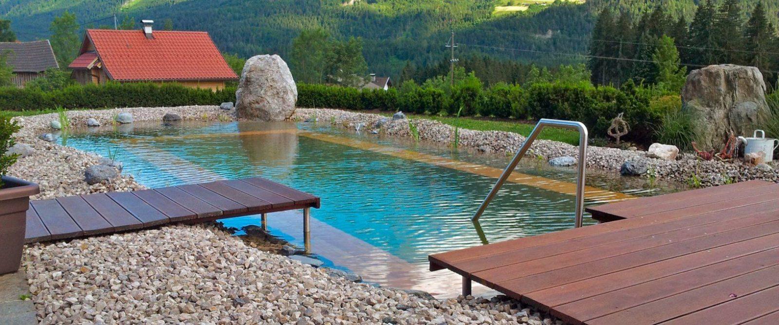 Holc Naturpool Swimmingpool Aus Holz Einbauen von Poolabdeckung Aus Holz Selber Bauen Photo