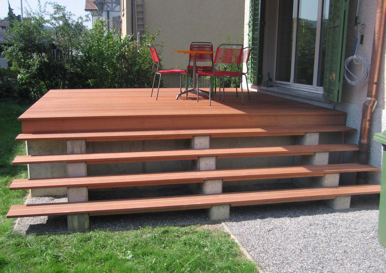 Holz Ausentreppe Selber Bauen Bauanleitung – Patrial Within von Terrassen Treppen Selber Bauen Photo