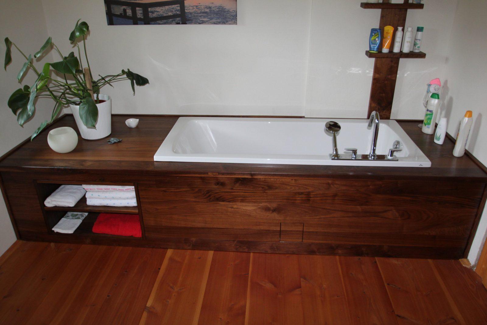 Holz Badwanneneinfassung Normalbetrieb I Jpg Mit Rustikal Tipps von Badewanne In Holz Einfassen Bild