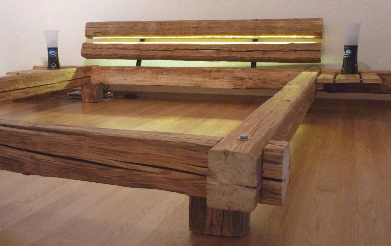 Holz Bett Selber Bauen Mit Neueste Holzbett Selber Bauen Labandcraft von Rustikales Bett Selber Bauen Photo