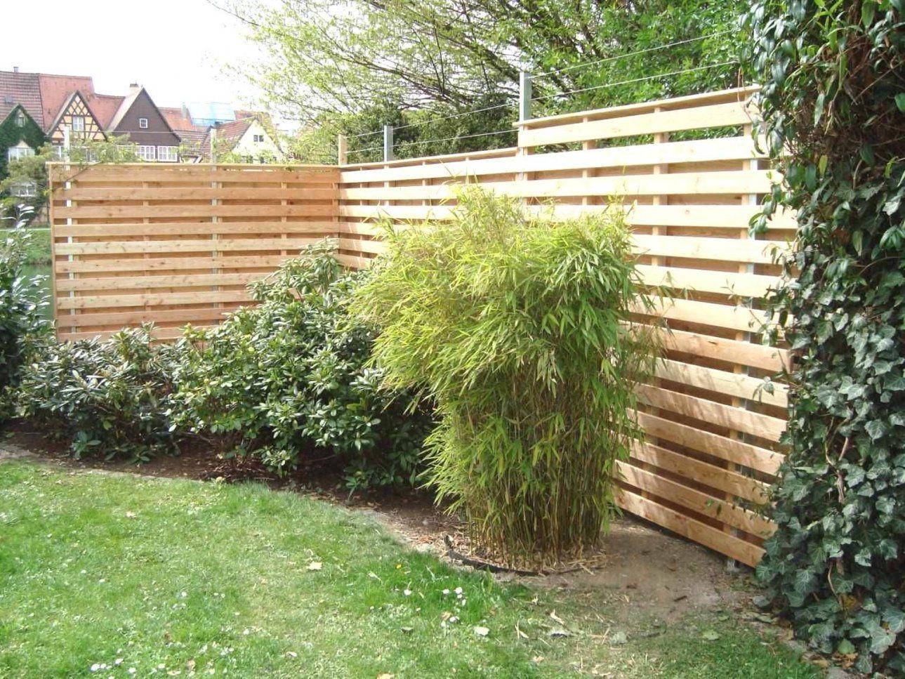 Holz Deko Garten Selber Machen Atemberaubend Tolle 40 Sichtschutz von Sichtschutz Selber Machen Günstig Photo
