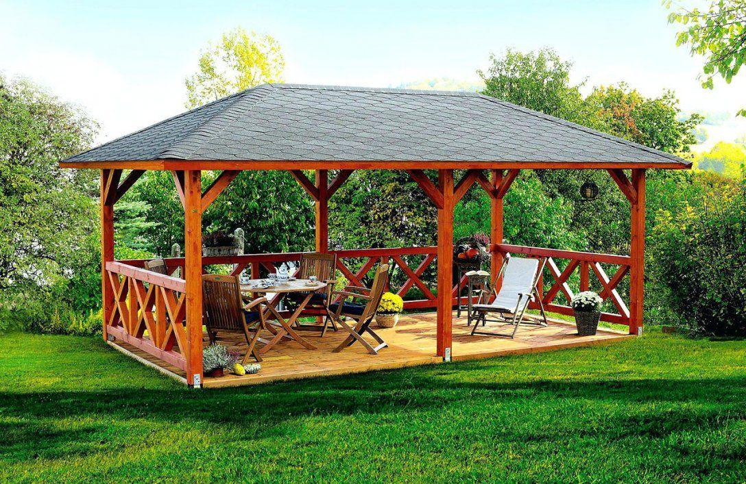 Holz Gartenpavillon 2Cedar Pavillon Bauplan Aus Selber Bauen von Pavillon Holz 4X4 Selber Bauen Bild