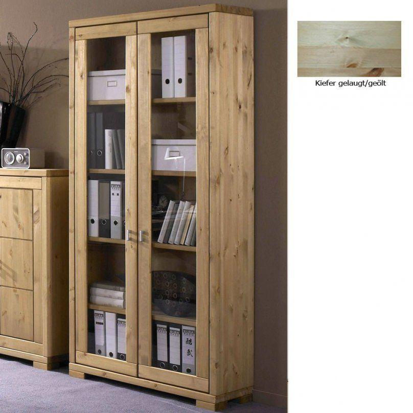 Holz Kommoden Kiefer  Innenräume Und Möbel Ideen von Vitrinenschrank Kiefer Gelaugt Geölt Bild