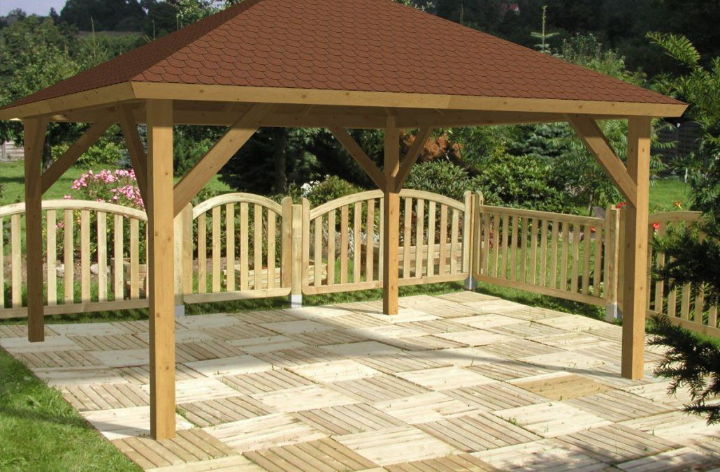 Holz Pavillon 3X4M Kc65 – Hitoiro von Holz Pavillon 3X4 Selber Bauen Photo