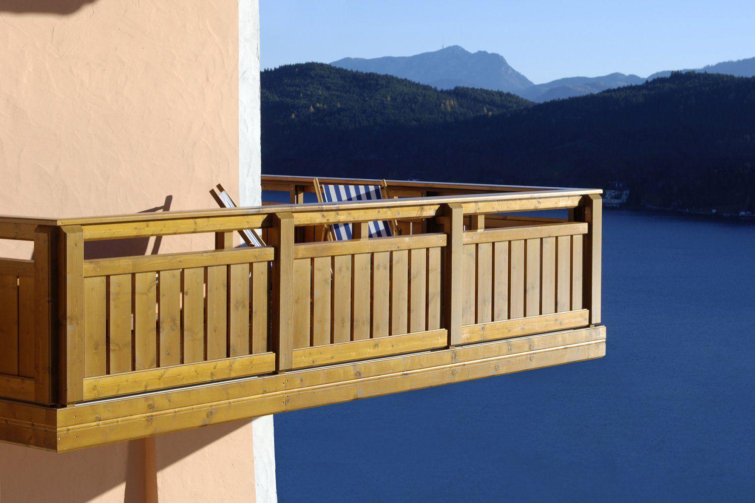 Holzbalkone Für Genießer von Balkon Aus Holz Selber Bauen Bild