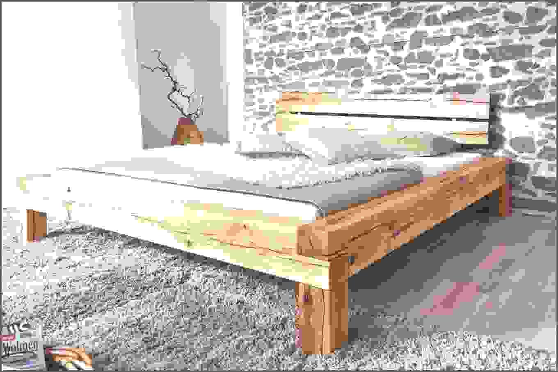 holzbett selber bauen balken von bett aus balken selber bauen design