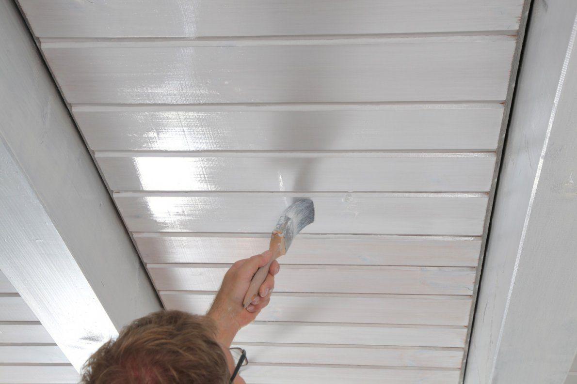 Holzdecke Weiß Streichen Sprühen Al76 – Hitoiro von Braune Holzdecke Weiß Streichen Photo