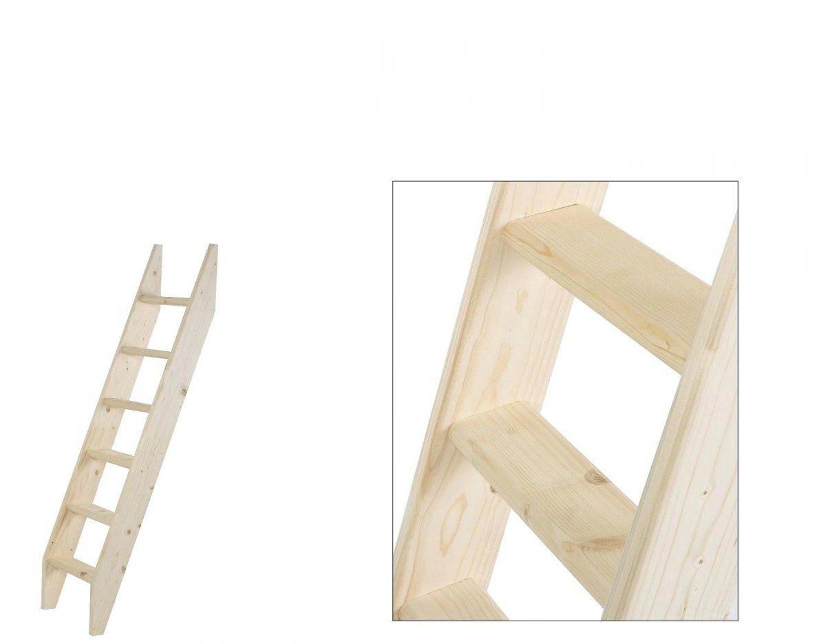 holzleiter selber bauen kleine hochbett deko leiter grandbaymiami