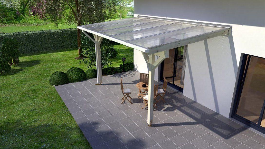 Holzterrassenüberdachung Selber Bauen (Rexocomplete)  Youtube von Terrassenüberdachung Freistehend Selber Bauen Bild