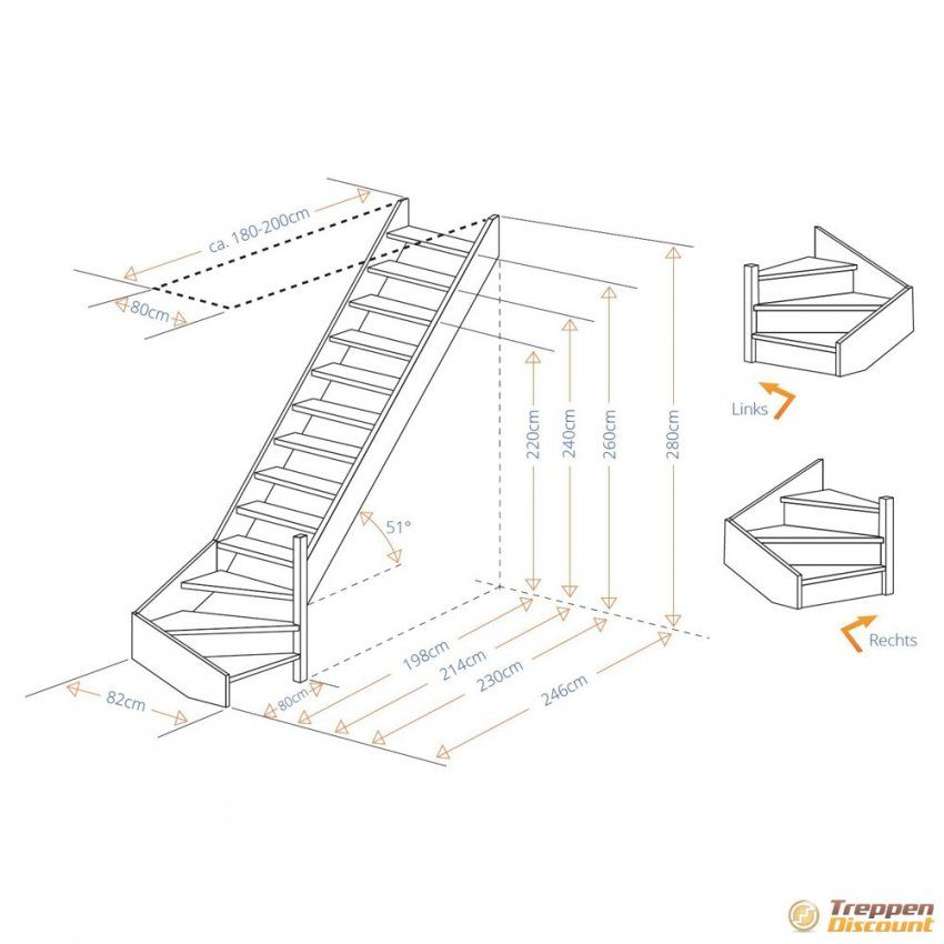 Holztreppe Aus Buche 14 Gewendelt Günstig Kaufen von Raumspartreppe 1 4 Gewendelt Günstig Photo