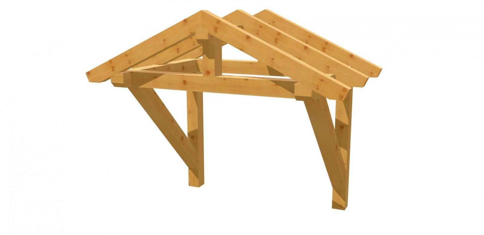 Holzvordach Selber Bauen  Holzbauplan von Vordach Selber Bauen Bauanleitung Bild